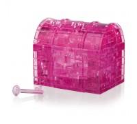 Кристалл Puzzle 3D - Сундучок со светом Crystal Puzzle 3d