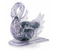 Лебедь со светом Crystal Puzzle 3d