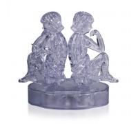 Близнецы со светом Crystal Puzzle 3d