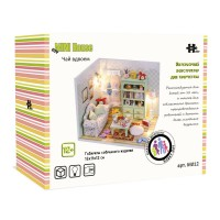 DIY Mini House Чай вдвоём (с фигурками)
