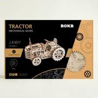 Трактор с механическим заводом