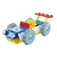 Конструктор пластиковый Гоночная машина