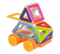 Магнитный конструктор mini Машинка 2