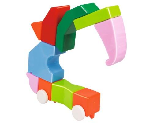 36 деталей Xinbida Детский Магнитный конструктор с погремушками