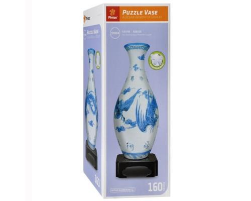 3D сфера пазл ваза